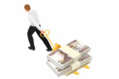 Dragging money 1000x620
