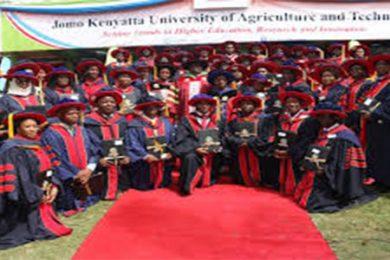Jomo kenyatta University graduation ceremony